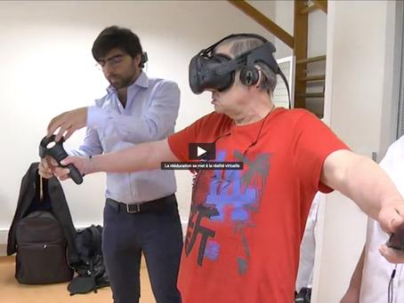 Comment la réalité virtuelle facilite la rééducation neurologique ?