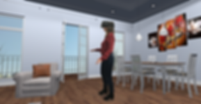Virtual reality for rehabilitation illustrated by KineQuantum