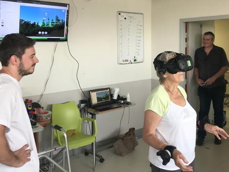 Quel est l'impact de la réalité virtuelle sur la douleur ?