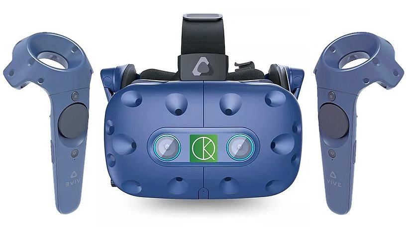 casque de réalité virtuelle rééducation KineQuantum.