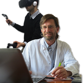 With KineQuantum the physiotherapist has his hands free and saves time
