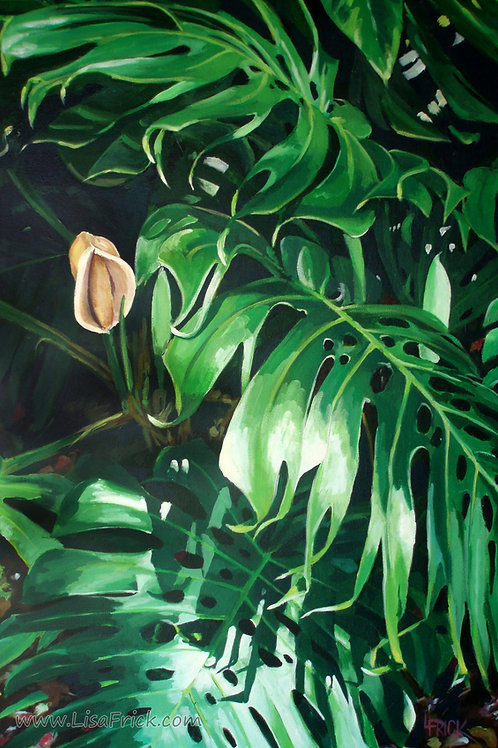 Waipeo Green- Acrylic on Canvas,