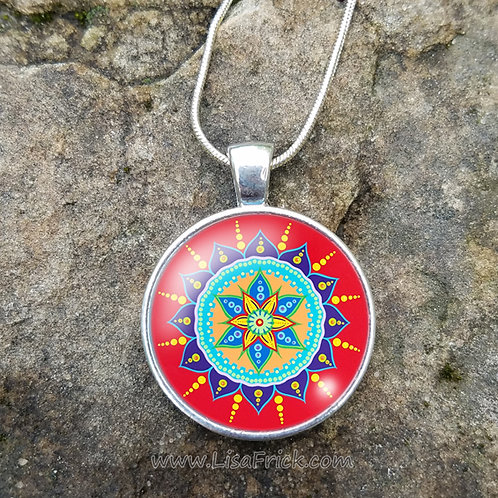 Mandala Necklace | Original Design #15