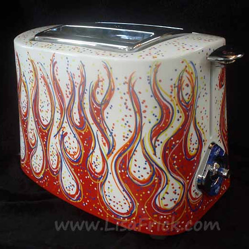 Hand Painted Toaster