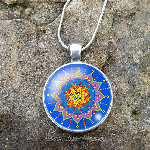 Mandala Necklace | Original Design #9