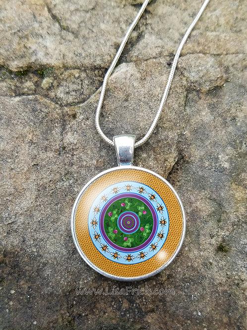 Mandala Necklace | Original Design #8