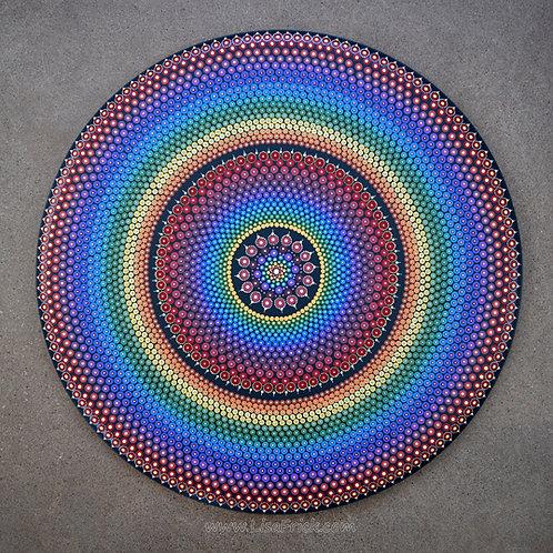 "30"" Dot Mandala Painting"