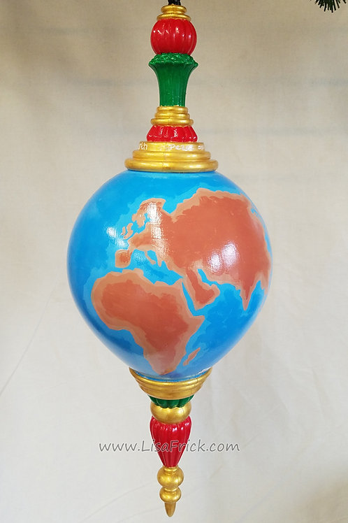 "Giant Peace on Earth Ornament- 21"" Long!  Free Shipping"