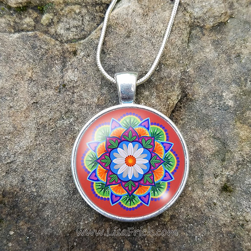 Mandala Necklace | Original Design #17
