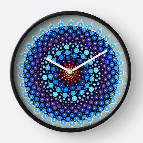 Dot Mandala Clock