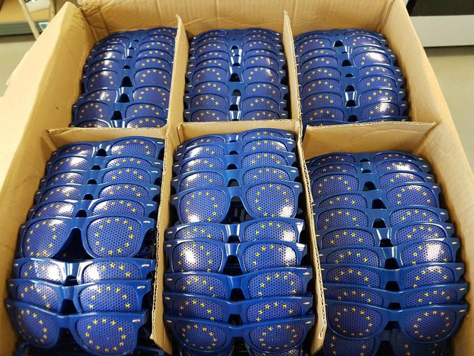 Lunettes personnalisées  pour le Parlement Européen
