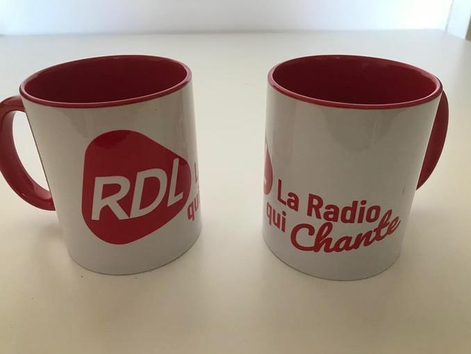 Mugs que nous avons marqués pour RDL