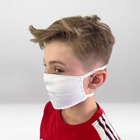 Weiße Maske Profil