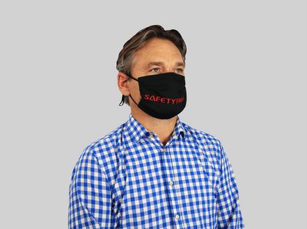 Zweilagige Maske Stickerei Klam