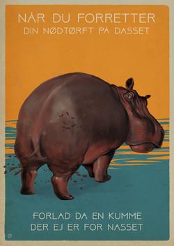 Office rule: The hippopotamus