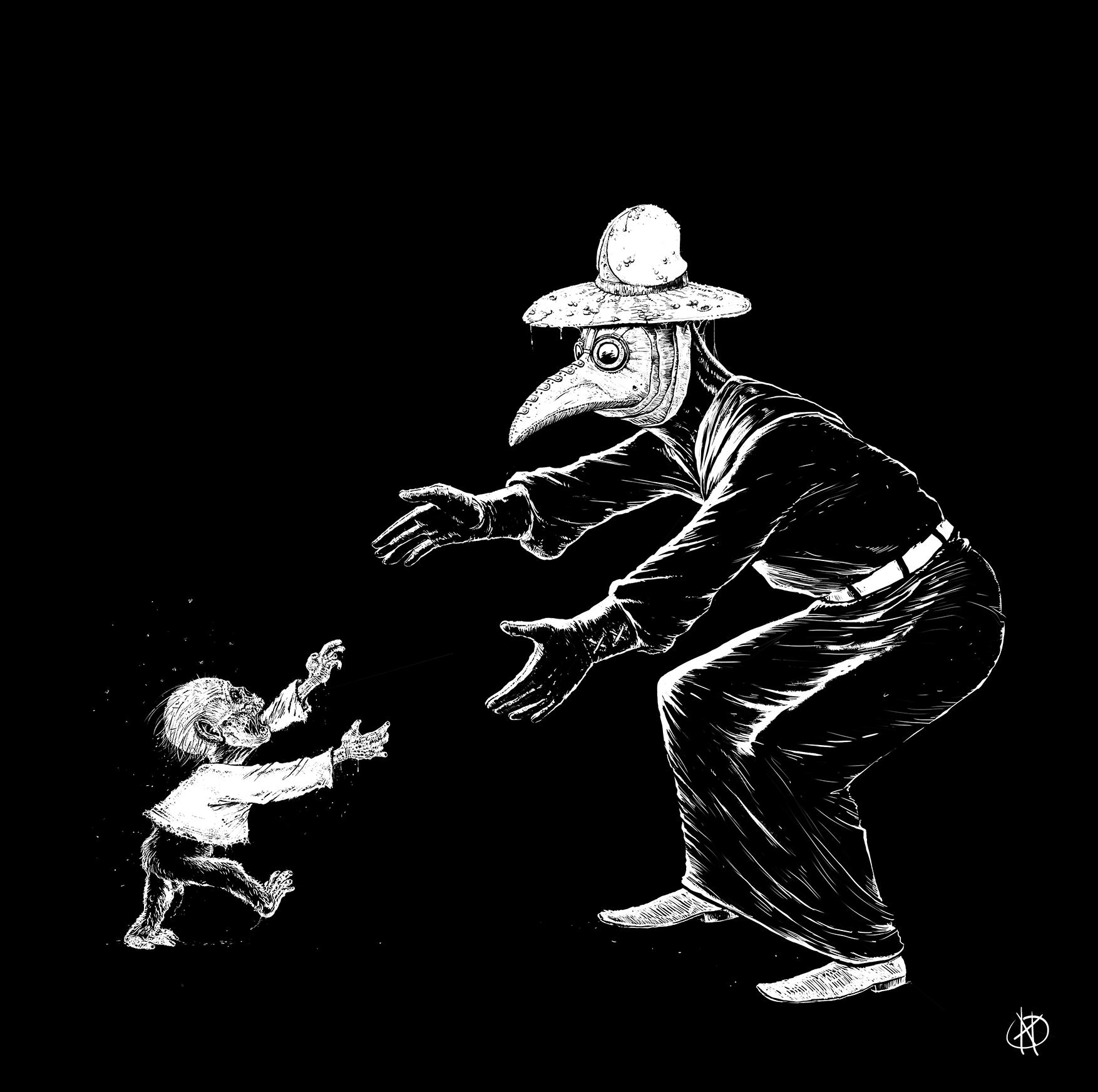 Peter Spedalsk og manden med den gustne hat