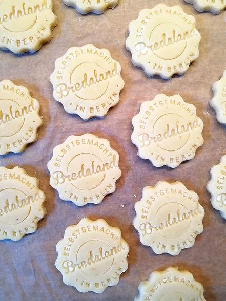 Kekse mit Logo, Firmenkekse online selber gestalten. Werbungskekse. Produkte für Marketing.Bredaland