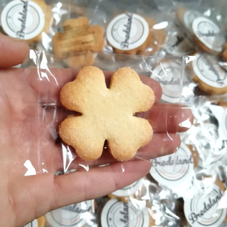Biscuits with company logo or Branding, hand made from Biscuits Bredaland Berlin