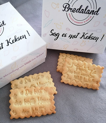 Duo Medium Box - 2 x 12 Kekse mit Design