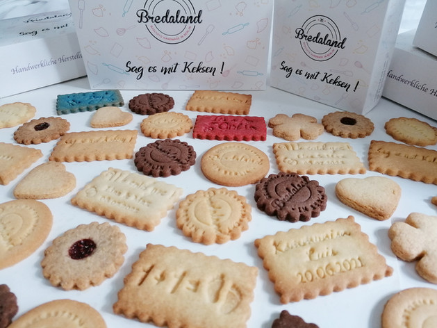Butterkekse, vegane Kekse, Salzgebäck - Sag es mit Keksen!
