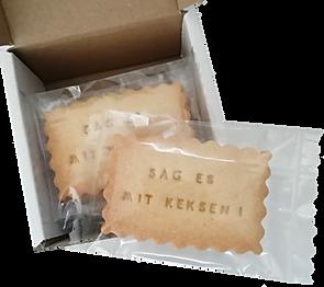 Musterset - Keksproben von Biscuits Bredaland