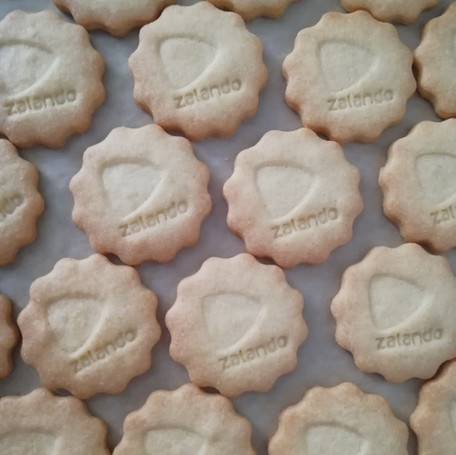 Biscuits with company logo from Biscuits Bredaland