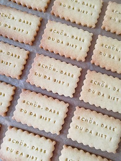 Handgemachte Kekse von Biscuits Bredalan