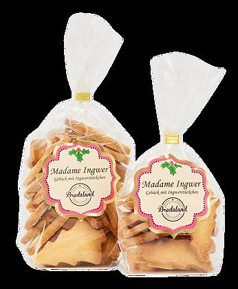 """""""Madame Ingwer"""" - Gebäck mit Ingwerstückchen"""