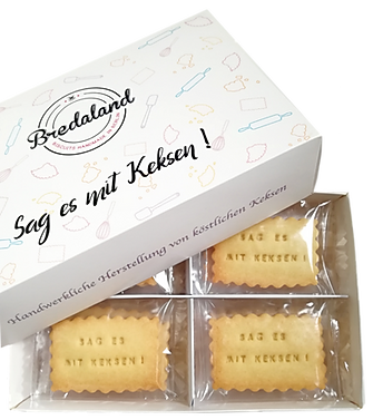 Deluxe Biscuit-Box von Biscuits Bredaland