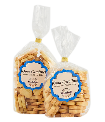 """Oma Caroline"" - Butter und Zitrone Kekse"