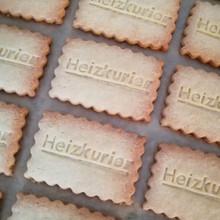Kekse mit Firmenlogo oder Branding, handgemacht von Biscuits Bredaland Berlin