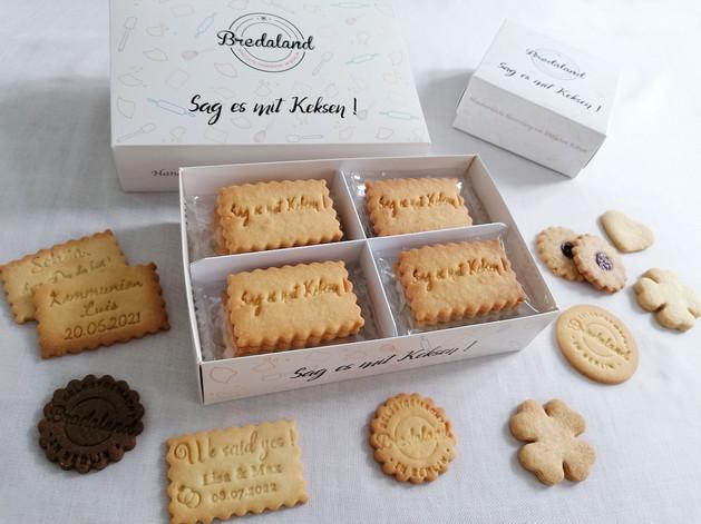 Unsere Keks-Boxen: eine kleine Aufmerksamkeit für Ihre Freunde und Familie.