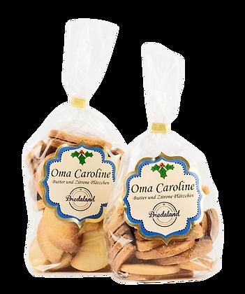 """""""Oma Caroline"""" - Lemon & almond biscuits, 100g (42,00 € / kg)"""