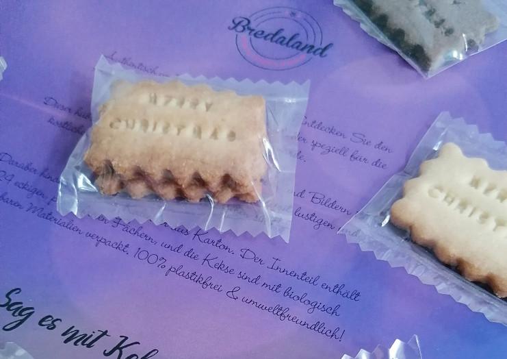 Adventskalender Biscuits Bredaland