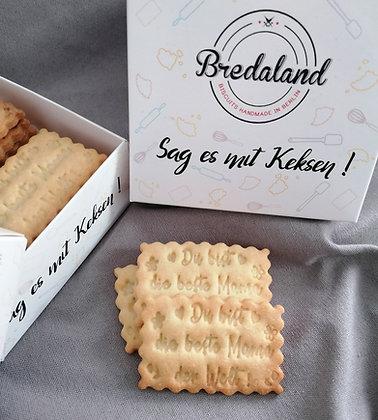 Muttertag Medium-Box - 12 Kekse mit Design
