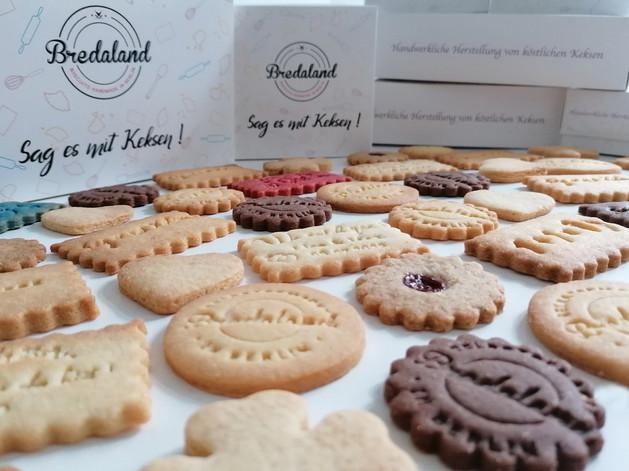Vegane Kekse mit Botschaft, handgemacht in Berlin.