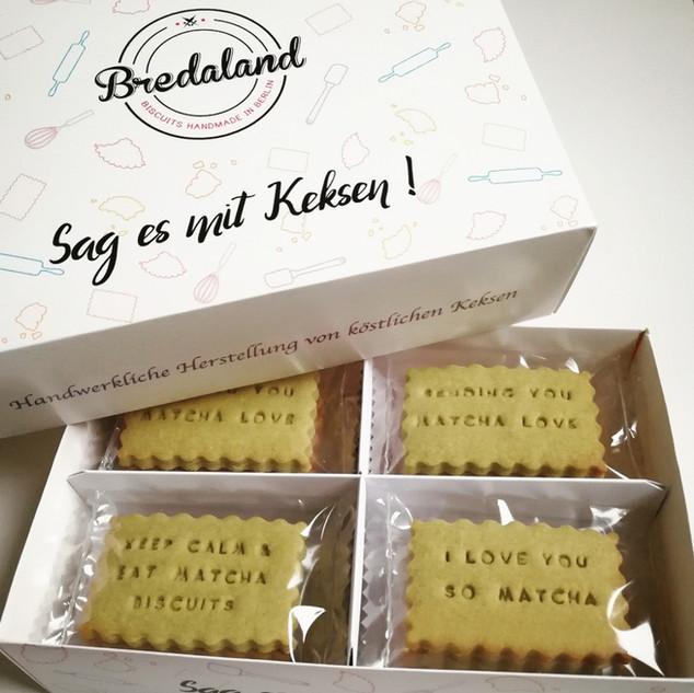 Matcha Biscuit-Box