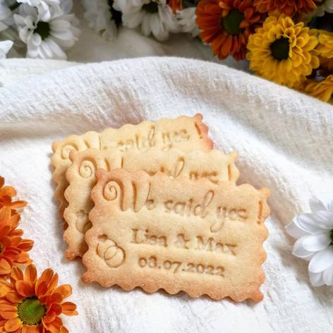 Hochzeitskekse von Biscuits Bredaland