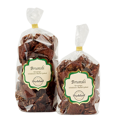 """Brunsli"" - Crunchy chocolate biscuits, 100g (42,00 € / kg)"