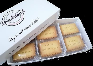 Deluxe Biscuit-Box von Biscuits Bredaland. Deine Kekse online selber gestalten.Personalisierte Kekse