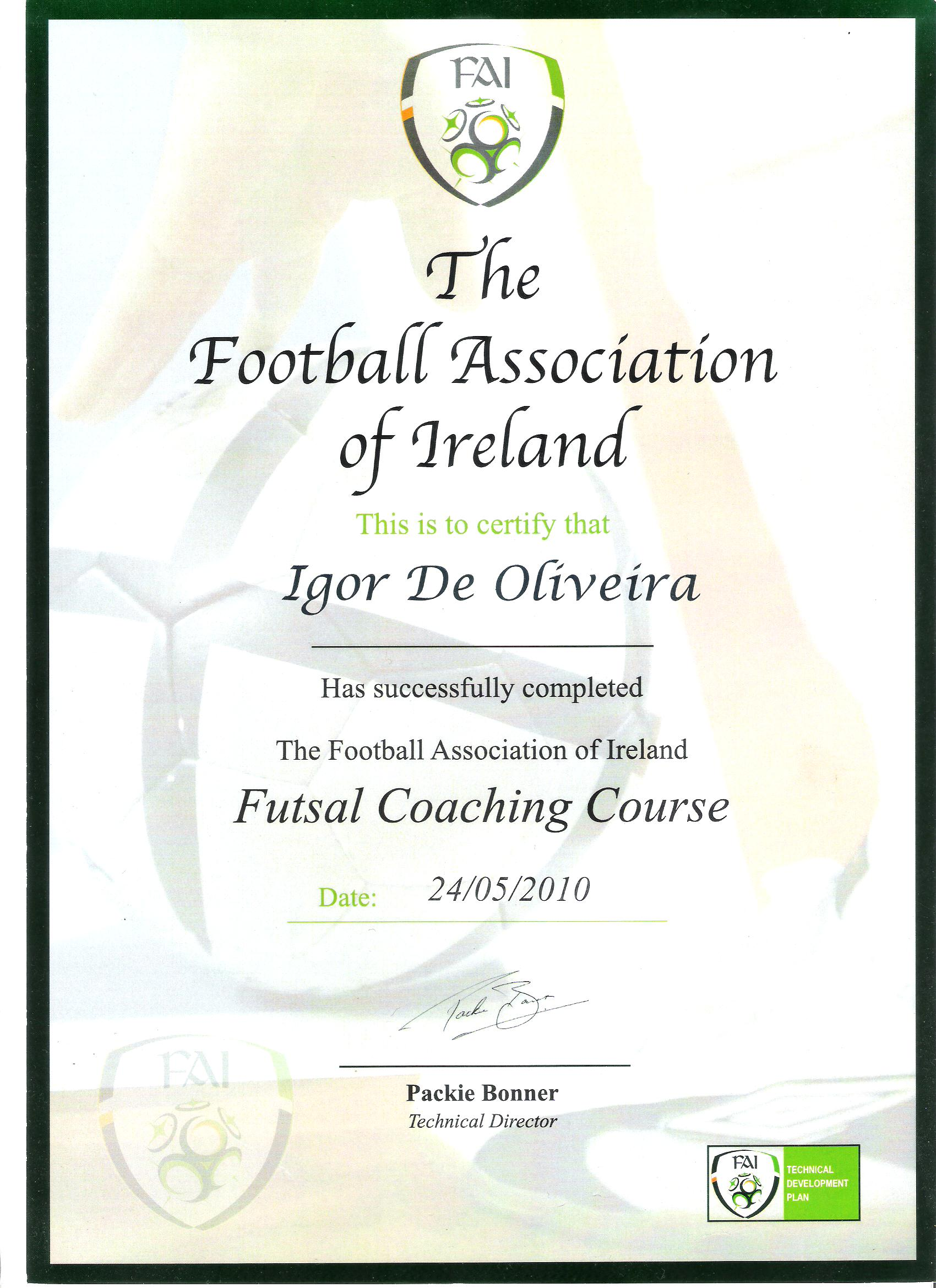 THE FAI - IRELAND
