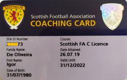 Scottish Card