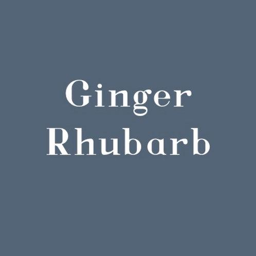 Ginger Rhubarb
