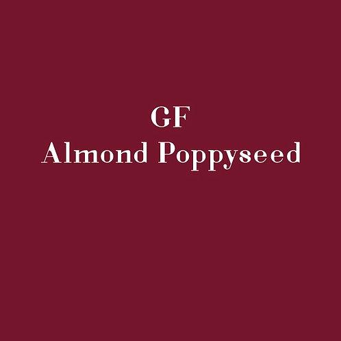 GF Almond Poppyseed Slice
