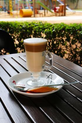 Cafe Latte at the Parks