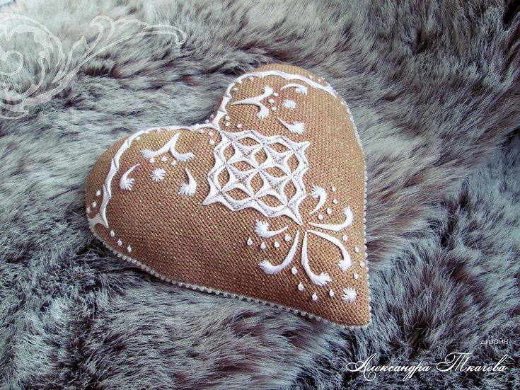 Пряничное сердце