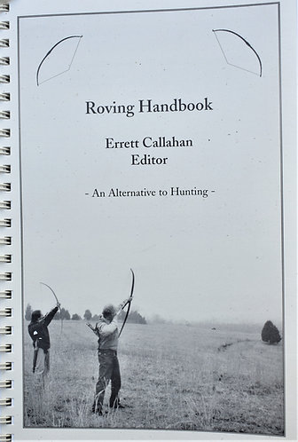 Roving Archery Book (condition NEW)