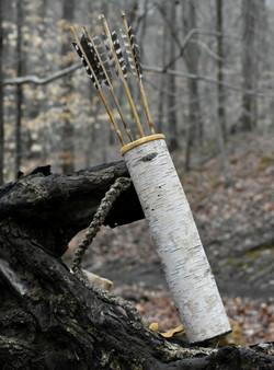 Birch Bark Quiver