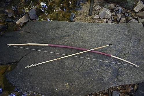 Anasazi Functional Bow and Arrow Replica