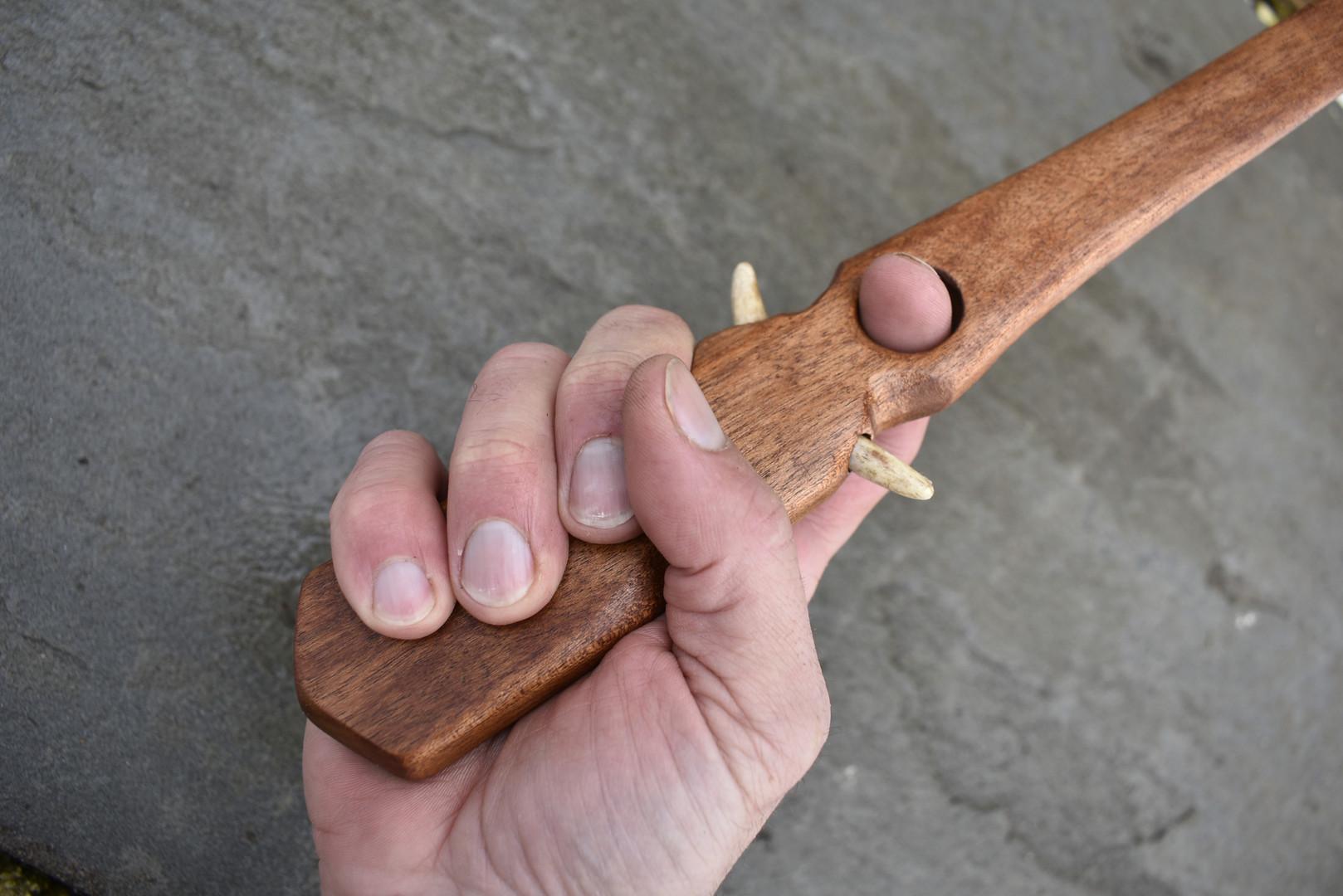 Handle of Eskimo Style Atlatl